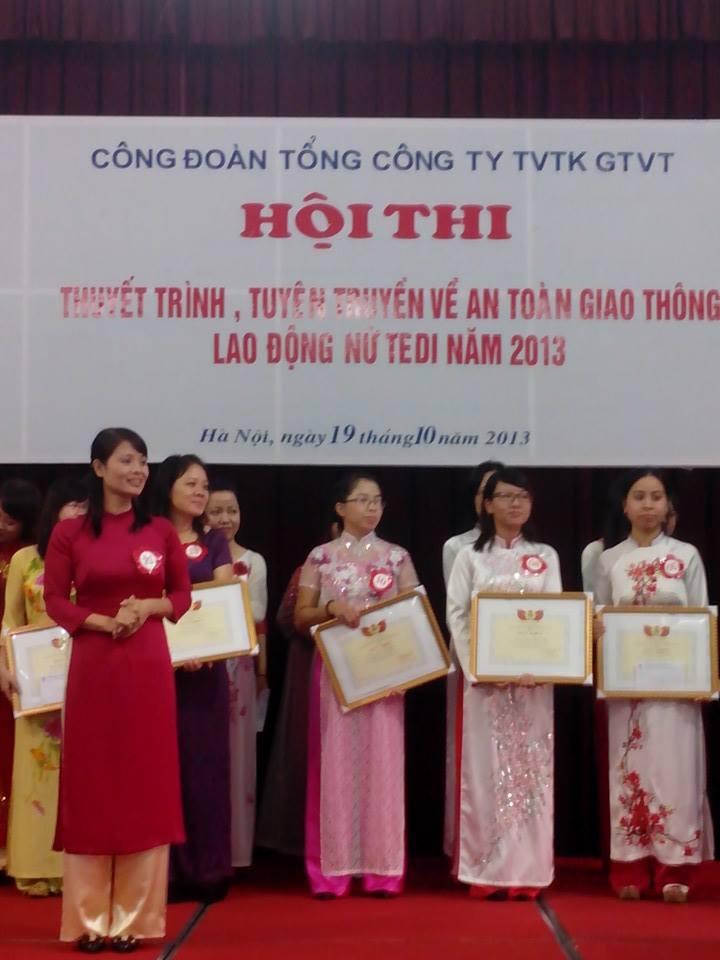 Thí sinh Phan Thị Lương Hà tại cuộc thi
